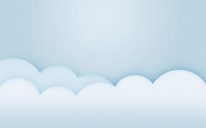 Обои небо, облака, стиль, минимализм, minimalism, style, 1920x1200, clouds, skt