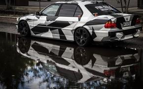Картинка BMW, Тюнинг, БМВ, winer, Alpina, E38, 740il, arctic camo, camo