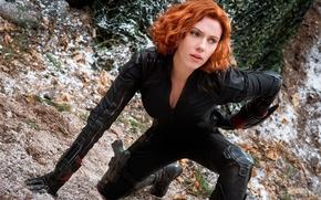 Картинка Scarlett Johansson, Black Widow, Natasha Romanoff, Avengers:Age of Ultron, Мстители:Эра Альтрона