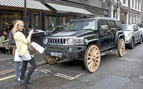 Обои Hummer, Ultimate, Wagon Wheel