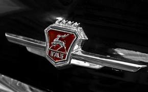 Картинка автомобиль, классика, передок, ГАЗ