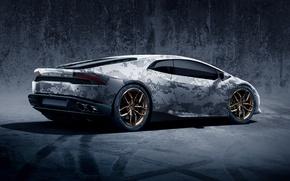 Обои supercar, автообои, Lamborghini Huracan