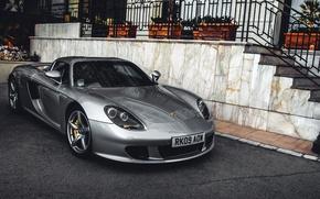 Обои luxury, скорость, exotic, суперкар, Porsche Carrera GT, спорткар