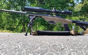 Картинка природа, оптика, винтовка, снайперская, сошка, Remington 700