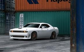 Картинка Dodge, Challenger, Hellcat, SRT