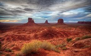 Обои каньон, пейзаж, горы, сша