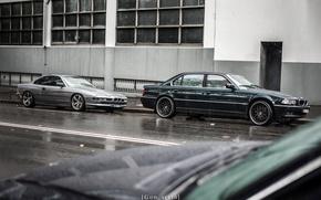 Картинка E38, 740iL, BMW 7 Series, 850i, BMW 8 Series