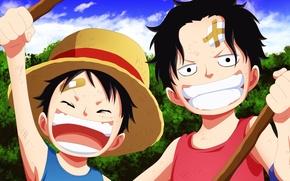 Картинка game, One Piece, pirate, hat, anime, boy, captain, warrior, manga, japanese, Portgas D. Ace, oriental, …