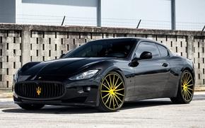 Картинка Maserati, GranTurismo, Vossen, VFS2, wheels.
