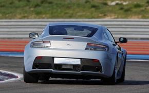 Картинка авто, Concept, Aston Martin, Vantage, V12, задок, стон мартин