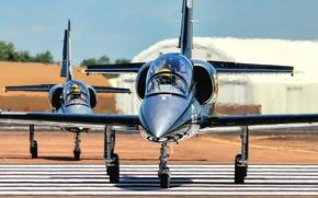 Картинка самолёт, «Альбатрос», Albatros, учебно-боевой, Aero L-39S