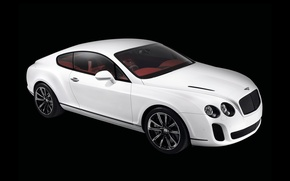 Обои белый, continental, bentley