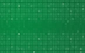 Картинка квадраты, patterns, краски, зеленый, squares, абстракция, 2000x1080, colors, abstraction, узоры, green