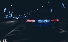 Картинка машина, авто, ночь, BMW, фотограф, auto, photography, photographer, Владимир Смит, Vladimir Smith, Калуга, Kaluga, габариты