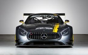 Картинка Mercedes-Benz, мерседес, AMG, GT3, C190