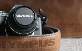 Картинка макро, камера, Olympus