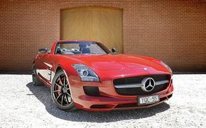 Картинка Mercedes, Benz, SLS