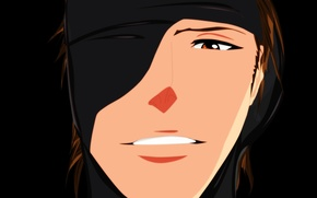 Картинка game, Bleach, anime, man, face, captain, evil, asian, manga, japanese, oriental, asiatic, shinigami, eye patch, …