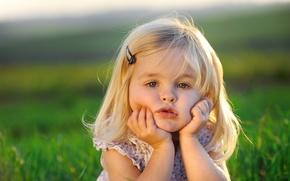Картинка настроение, девочка, малышка