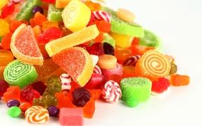 Обои конфеты, сладкое, леденцы, сахар, желатин, мармелад