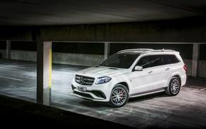 Картинка Mercedes-Benz, мерседес, AMG, X166, GLS-Class