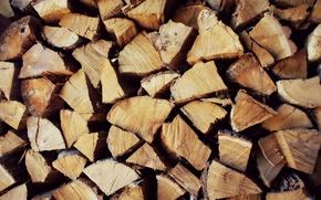Картинка фон, дерево, дрова