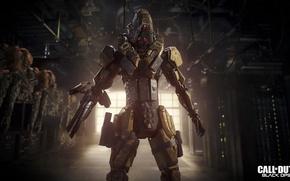 Картинка battlefield, gun, Call of Duty, game, robot, fighter, soldier, weapon, war, machine, Call of Duty …