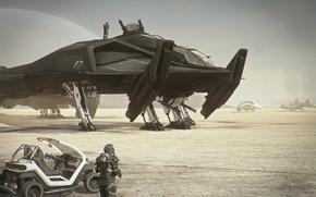 Картинка space ship, Retaliator, Star citizen