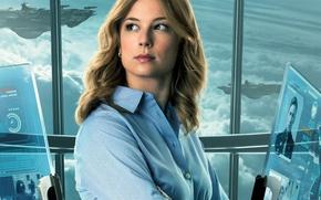 Картинка Captain America, Первый мститель, The Winter Soldier, Другая война, Emily VanCamp, Agent 13