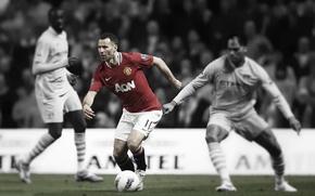Картинка Футбол, football, manchester united, soccer, manchester city, Ryan Giggs