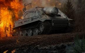 Картинка оружие, Игры, game, Танк, weapon, world of tanks, tank, Мир Танков, Sturmtiger, штурмтигр
