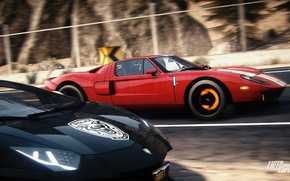 Картинка Ford, Lamborghini, Need for Speed, nfs, LP700-4, Aventador, 2013, Rivals, NFSR, нфс