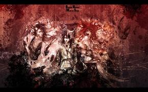 Картинка bleach, snyp art, ulquiorra, heroes, byakuya, renji