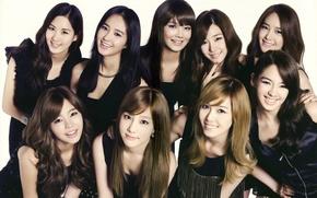 Обои music, girls, generation, tiffany, asian, jessica, yuri, snsd, kpop, korea, sooyoung, hyoyeon, yoona, seohyun, sunny, ...