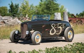 Картинка Roadster, Ford, Hot Rod, 1932, Хот-род, Hi-Boy