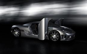 Обои Koenigsegg, high poly v01, CCX