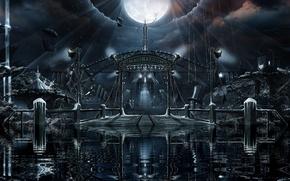 Обои panorama, Nightwish, альбом 2011, imaginaerum