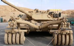 Обои abrams, usa, танк, военная техника