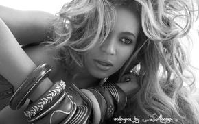 Картинка девушка, чёрно-белое, beyonce, бейонсе, афроамериканка, ноулз