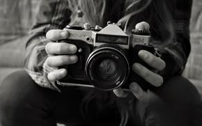 Картинка ретро, фото, фотоапарат, старый, photo, зенит, Zenit, walpappers