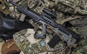 Обои оружие, штурмовая, винтовка, Тавор, TAR-21, автомат
