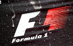 Картинка логотип, формула 1, rain, тайфун