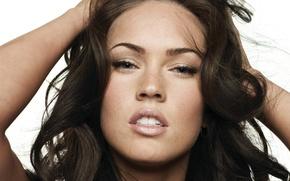 Картинка Megan Fox, Девушки, Лицо, Красота, Сексуальность