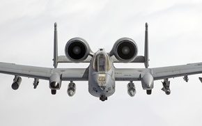 Картинка небо, кабина, штурмовик, Thunderbolt II, «Тандерболт» II, A-10C