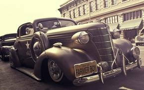 Обои retro, car, chevrolet, автомобиль, ретро, стиль