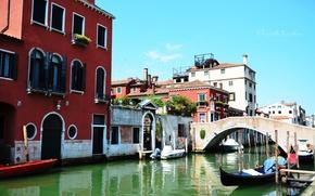 Картинка вода, город, венеция