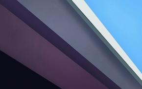 Картинка белый, линии, сиреневый, голубой, текстура, Material
