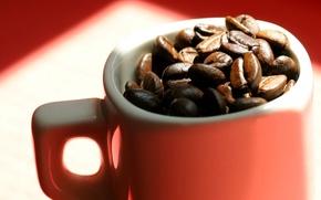 Картинка макро, фон, кофе, кружка