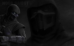 Картинка Mortal Kombat, fighting, Noob Saibot