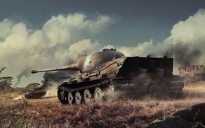 Картинка Лев, WoT, World of Tanks, Мир Танков, Löwe, Wargaming Net, Лёва